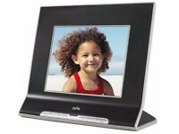 "Ceiva 8"" Digital Photo Frame with SD Card Slot - Wi-Fi and Broadband Ready"