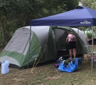 Awesome 6 person Coleman tent - 3 rooms : 5 room tent - memphite.com