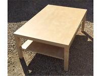 IKEA LACK birch effect coffee table