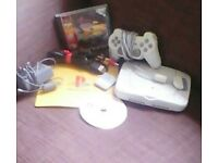PlayStation1 with games