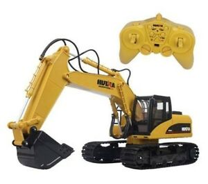 Hugine 15 Channel RC Excavator 2.4G Crawler Full-Function Remote