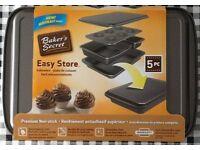 New Bakers Secret 5 piece bakeware set