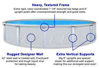 Above ground pools / swimming pools  PRICE TAX IN