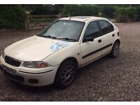 Rover 200 For Spares or Low Cost Repair