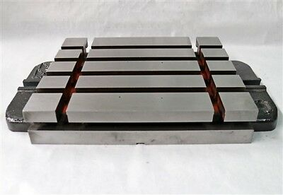 Quality 12 X 10 Cast Iron T-slotted Bolster Plate