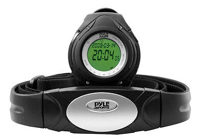 Pyle PHRM38BK Heart Rate Monitor Watch W/ Calorie Counter & Target Zones