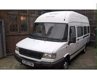 LDV CONVOY 55 16 SEATER MINI BUS HIGHTOP £695