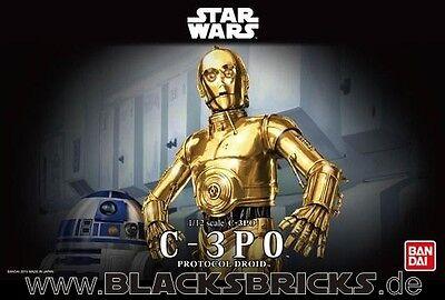 Star Wars C-3PO, Modellbausatz 1/12 von Bandai, neu & OVP