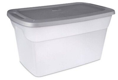 Artificial Storage Containers 30-Gallon Set of 6 Box Bin Lids New