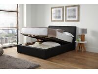 Ottoman Storage Double Bed