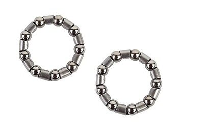 """2(Two) Sunlite Bicycle Crank  Ball Bearings Retainer 5/16 """" by 9 Balls"""