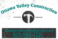 Ottawa & Valley Construction and Restorations