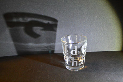 Custom Shot Glass (Magic the Gathering card Custom Etch shot glass )