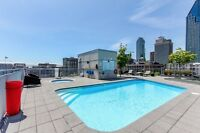 Luxurious condo in Griffintown available immediately!