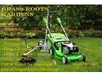 Garden and Outdoor Maintenance Service