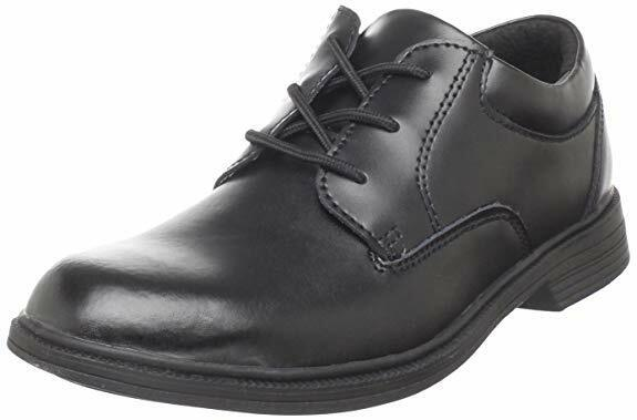 Stride Rite School Shoes Black Lace Leather Shoes  Boys  Siz