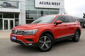 2018 Volkswagen Tiguan Highline AWD (Acura West)