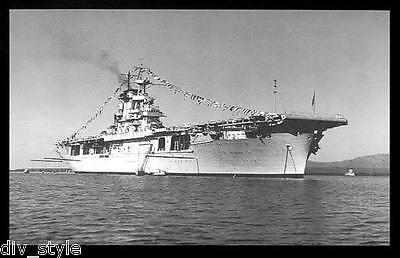 Uss Wasp Aircraft Carrier (USS Wasp CV-7  postcard US Navy ship aircraft carrier )