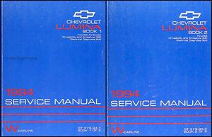 1994-Chevy-Lumina-and-Euro-Z34-Repair-Shop-Manual-Set-94-Chevrolet-Service-OEM
