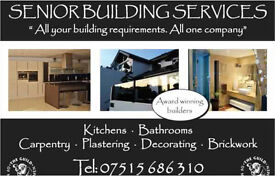 Senior Builders Top Quality-Qualified with 30yrs experience