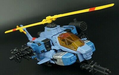 Transformers Generations WHIRL Complete 30th Anniversary Helicopter Voyager