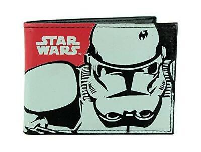 Official Disney Star Wars Stormtrooper Design Bi-Fold Wallet