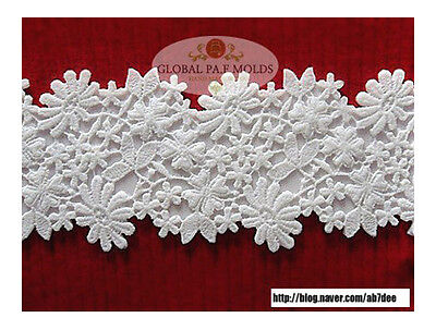 Sugarcraft Molds Polymer Clay Molds Cake Decorating Tools Lace Mold 5533