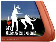 German Shepherd Decal