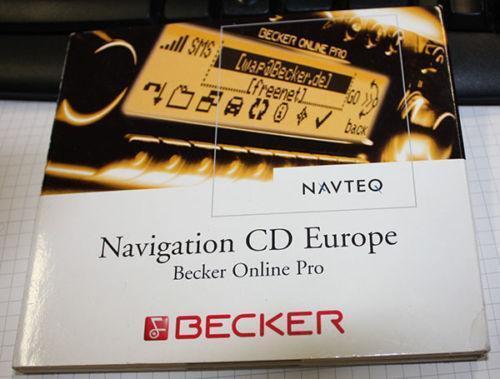becker navigation cd ebay. Black Bedroom Furniture Sets. Home Design Ideas