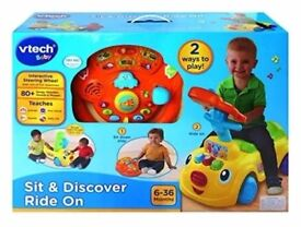 VTech Baby Sit and Discover Ride On Toy New & Sealed in Box Cheapest In the UK!