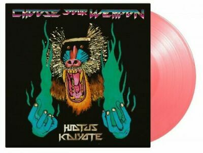 Hiatus Kaiyote – Choose Your Weapon 2LP Vinyl PINK Numbered NEW!