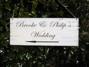 Large Personalised Wedding Sign