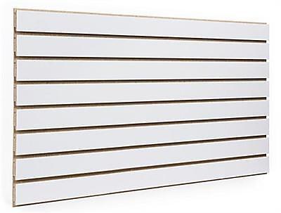 4 X 8 White Color Slatwall Panels