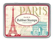 Paris Rubber Stamp