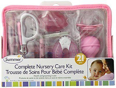 Summer Infant Complete Nursery Care Kit, Pink/White