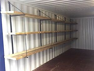 Container lock boxes, vents, storage solutions