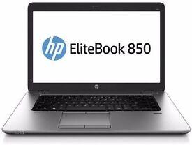"HP ELITEBOOK 850 G1 i7 4600U 2.10GHz 15"" 256GB SSD 8GB W10, Office 16 GRADE"