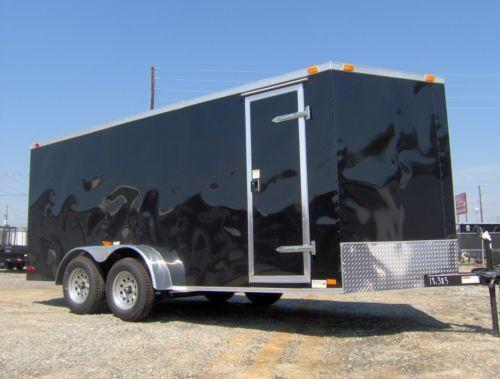 Used Enclosed Aluminum Car Trailer For Sale