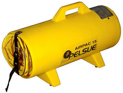 Pelsue Airpac25 Poly Can W25 Hdpe Canister With 25 Hose Attaches To Blower
