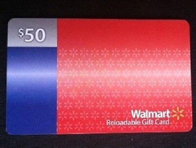 Walmart Gift Card $50.00