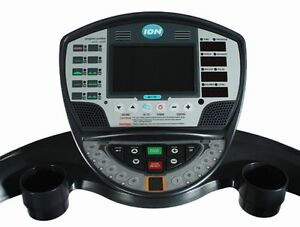 ION 1807T-ME Treadmill with Built-in LCD TV Display