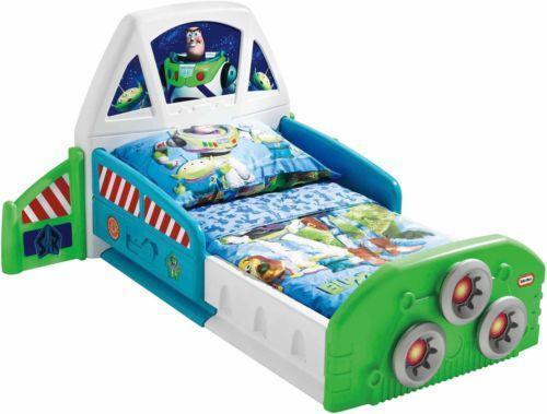 Buzz lightyear bed ebay for Childrens rocket bed