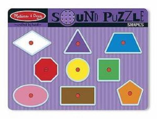 Melissa And Doug Sound Puzzle Ebay