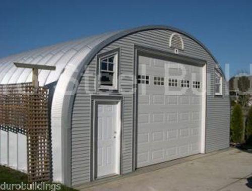 Prefab garage buildings modular pre fab ebay for Building a prefab shed