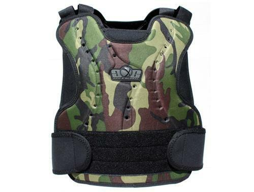 GXG Chest Protector - Woodland - Paintball