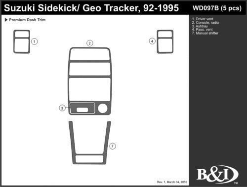 1993 geo tracker  car  u0026 truck parts