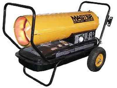 Master MH-135T-KFA Kerosene Forced Air Heater with Thermostat, 135,000 BTU