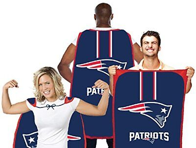NEW ENGLAND PATRIOTS FAN FLAG CAPE BANNER 31.5