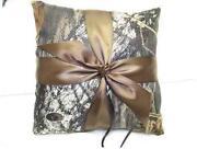 Camo Ring Bearer Pillow