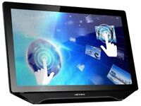 Hanns G 24-Inch Wide Touchscreen IPS LED Monitor